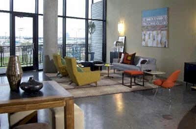 Elegant ... Split Level Dallas Loft. Contact Us Today For A Showing.